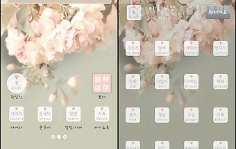 Flower launcher theme dodol