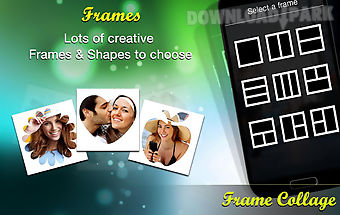 Frame collage photo editor