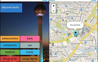 Berlin offline map guide hotel