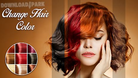 Change Hair Color Android App Free Download In Apk - Hairstyle change app download