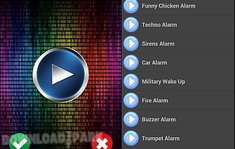 Funny alarm sounds