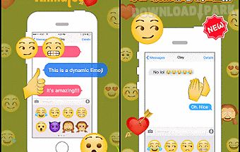 Kika emoji animated2 sticker