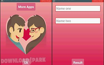 Love or friendship calculator