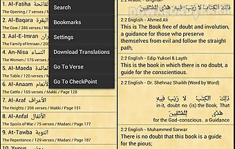 Quran translations