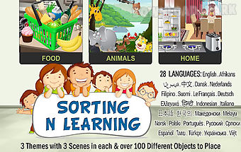 Sorting n learning game 4 kids