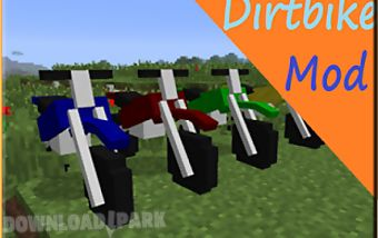 The dirtbike mod mcpe guide