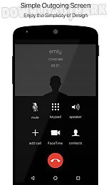 black caller screen dialer