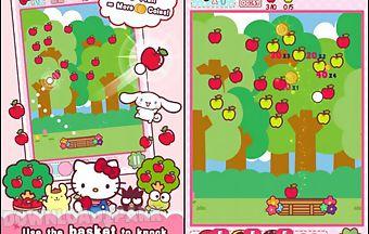 Hello kitty orchard transparent