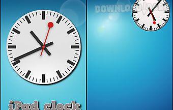 Ipad clock