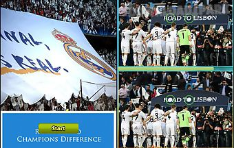 Real madrid champions difference