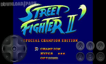 street fighter 2 - special champion edition - sega
