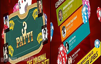Teen patti poker game