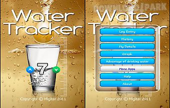 Water consumption tracker lite