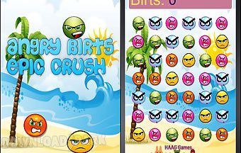 Angry birts epic crush casual ac..