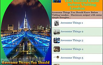Awesome things you should know b..
