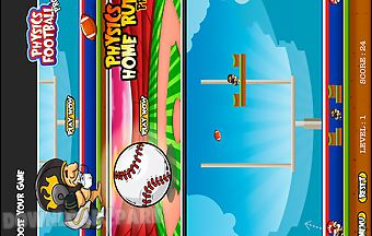 Baseball and football physics go..