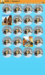 ice age memory game