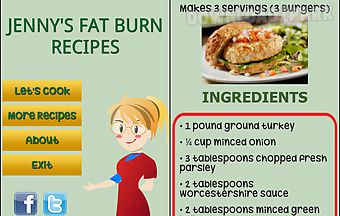Jennys fat burn recipes