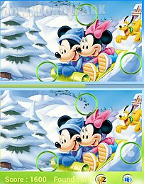 mickey mouse find difference