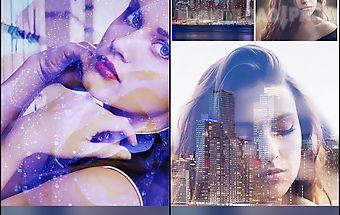 Double exposure - blend 2 pics