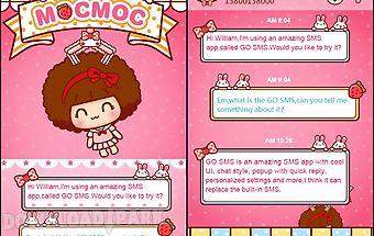 Go sms pro hellomocmoc theme