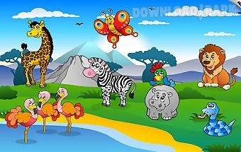 Kids & toddler puzzle: animals