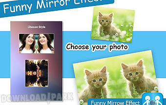 Mirror photo funny mirror+
