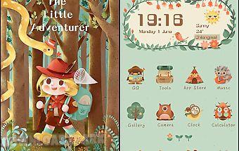 The little adventurer theme