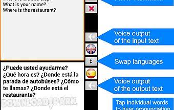 Translate offline spanish free