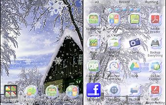 Winter theme for go launcher