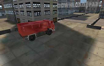 Fire rescue parking 3d hd