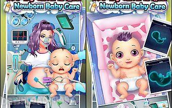 Maternity doctor -newborn baby