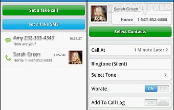 Mr caller free (fake call&sms)