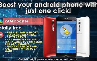 Ram booster phone boost