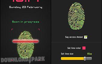 Unlock with fingerprint prank