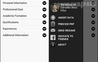 Curriculum manager / resume