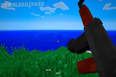 guns mods for minecraft pe