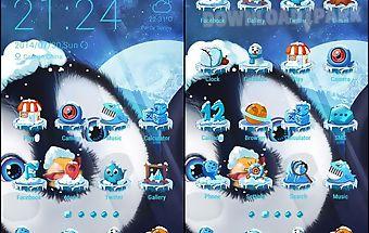 Happy penguin theme