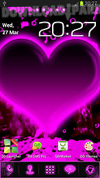hearts - go launcher theme