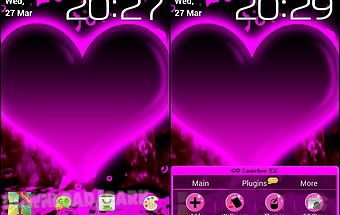Hearts - go launcher theme
