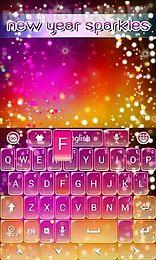 new sparkles keyboard theme