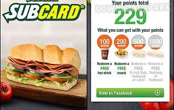 Subway® subcard® uk & ireland