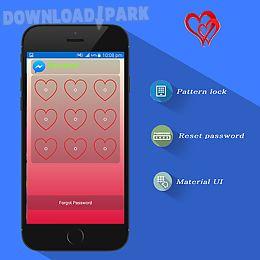 valentine theme applock