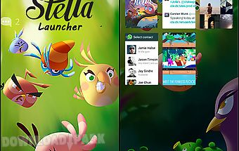 Angry birds stella: launcher