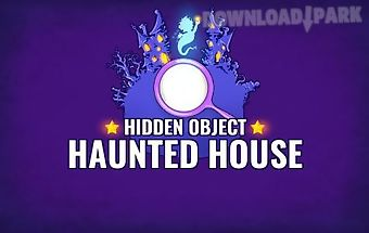 Hidden objects: haunted house