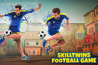 skilltwins: football game