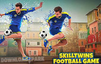 Skilltwins: football game