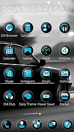black bmw theme