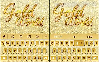 Golden world for hitap