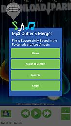 mp3 cutter & merger